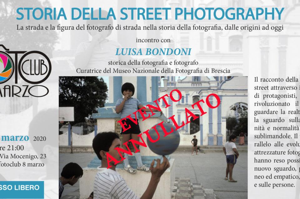EVENTO ANNULLATO  - STORIA DELLA STREET PHOTOGRAPHY