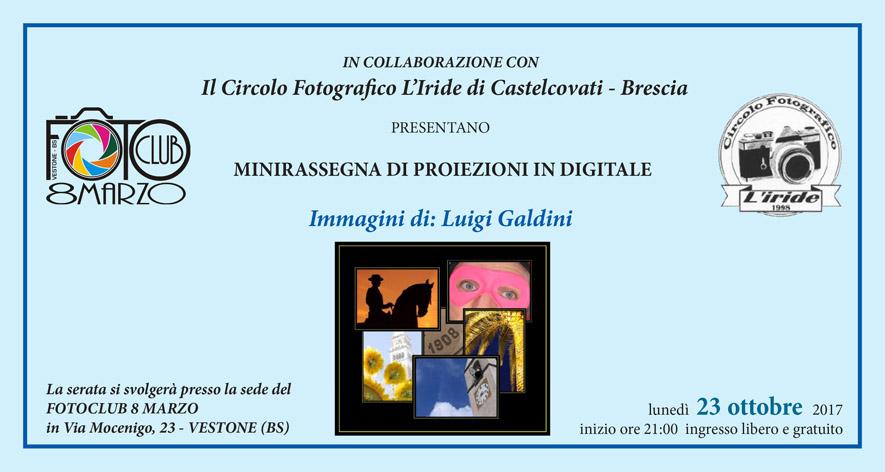 Proiezione Luigi Galdini 23 Ottobre 2017